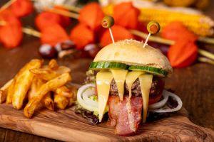 Recette Cheeseburger effrayant d'Halloween
