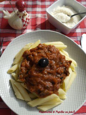 Recette Sauce Puttanesca | Fourchettes & papilles en joie