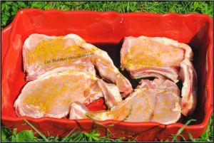 Recette Marinade pour côtes de porc