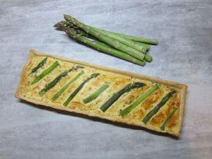 Recette Quiche saumon asperges
