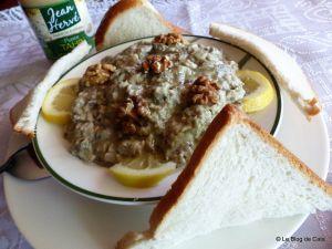 Recette Baba ganoush- Caviar d'aubergine au tahini