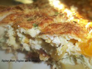 Recette Tajine Jben (Tajine au fromage)