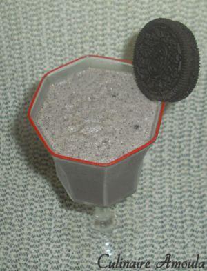 Recette Milkshake Oréo