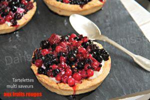 Recette Tartelettes aux fruits rouges – Vegan