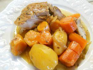 Recette Rouelle de porc au miel et au cidre