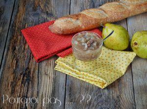 Recette Confiture poire / noix / vanille / girofle