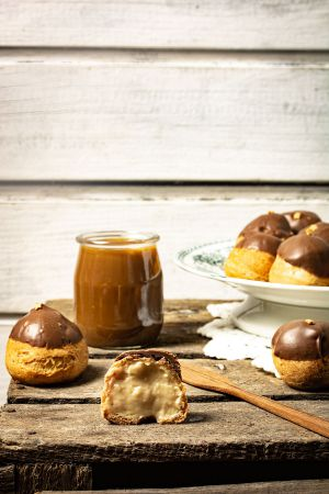 Recette Choux caramel beurre salé