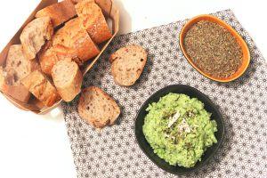 Recette Tartinade aux fèves et à la fêta