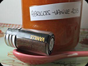 Recette Confiture Abricots-Vanille au cookéo