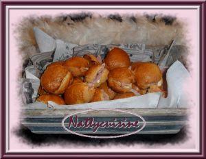 Recette Navettes au jambon