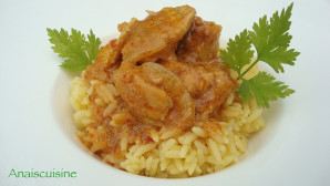 Recette Curry de lapin