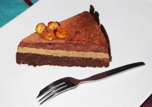 Recette Entremets chocolat noisette