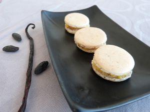 Recette Macarons Vanille et Fève Tonka