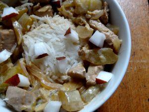 Recette Thon et concombre au lait de coco (Tuvalu)
