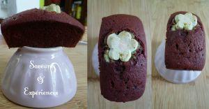 Recette Mini Red Velvet Cakes Chamallow