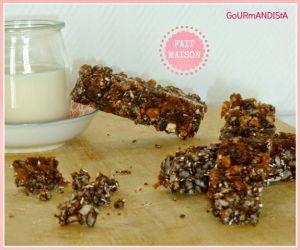 Recette Barres céréales vegan et sans gluten
