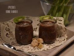 Recette Porridge de graines de chia au cacao et coco