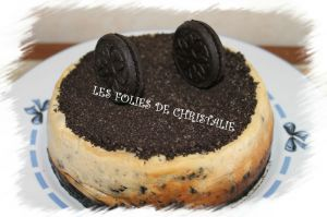 "Recette Cheesecake ""around oreo"""