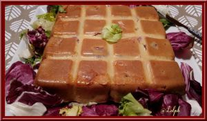 Recette Cake Comtois à la saucisse de Morteau