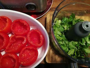 Recette Tomates farcies des familles