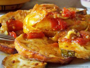 Recette Tajine de poulet aux aubergines (cuisine algerienne)