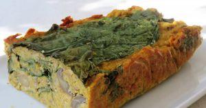 Recette Pain végétal à la courge butternut, épinards , champignons et sarrasin