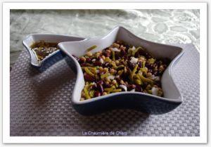 Recette Salade aux trois haricots