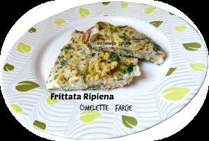 Recette Frittata Ripiena - Omelette Farcie