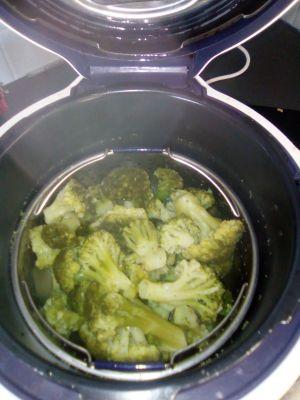 Recette Cuire des brocolis au cookéo
