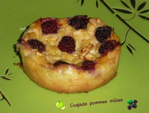 Recette Cuajada pommes mûres en version individuelle