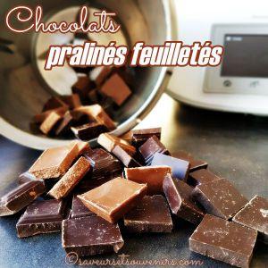 Recette Chocolats pralinés feuilletés