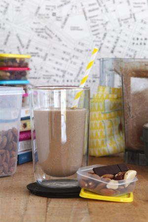 Recette Smoothie cacao post work out (qui se transforme comme par magie en crème dessert chocolat)