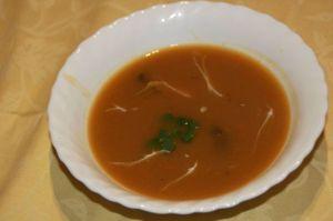 Recette Soupe à la citrouille et oseille
