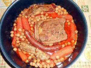 Recette Ragout de mouton carottes et pois chiches