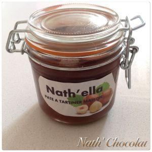 Recette Pâte à tartiner Nath'ella