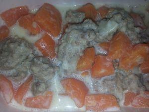 Recette Viande hachée aux carottes COOKEO