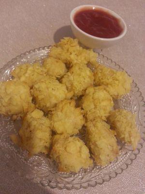 Recette Nuggets de poulet enrobé de chips