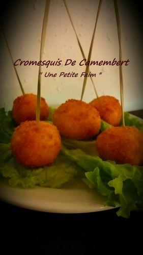 Recette Cromesquis De Camembert