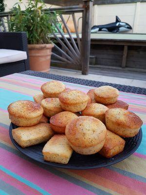 Recette Mini cakes citron & pavot