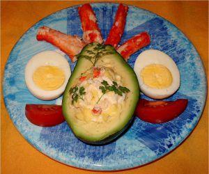 Recette Avocat au Crabe