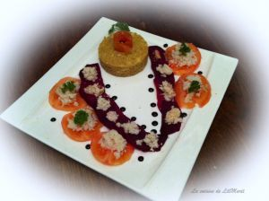 Recette Salade en couleurs