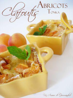 Recette Clafoutis aux abricots et à la fève Tonka
