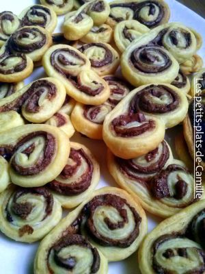 Recette Palmiers au Nutella