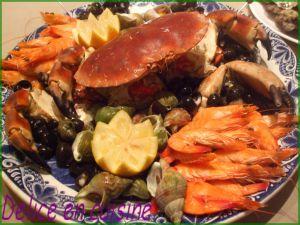Recette Cuisson des fruits de mer