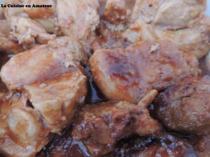 Recette Côte de porc en papillote