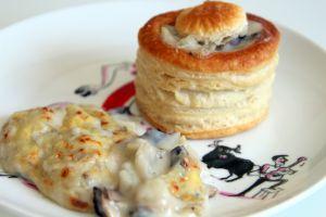 Recette Vols au vent fenouil et champignons (végétarien)
