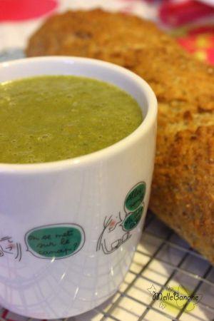 Recette Soupe aux épinards