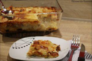 Recette Des Lasagnes aux Poireaux et Saumon Fumé