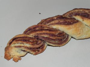 Recette Pâte tressée à la pâte à tartiner