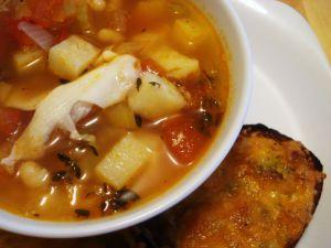 Recette Défi soupe #1: Soupe toscane